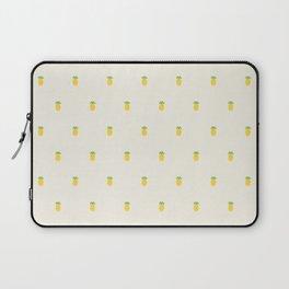 Pineapple Pattern Cross Stitch Laptop Sleeve