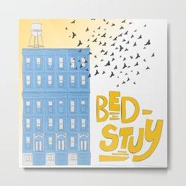 Bed-Stuy Metal Print