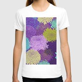Chrysanthemum blossom T-shirt