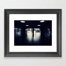 Abandoned Train Station, Berlin Framed Art Print