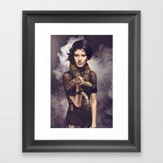 Snake Charmer Framed Art Print
