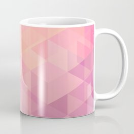 Geometric Pink  Coffee Mug