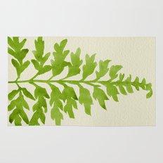 Lime Fern Rug