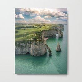 Elephant cliffs Metal Print