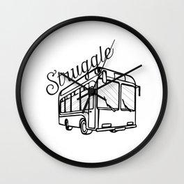 Struggle Bus Wall Clock