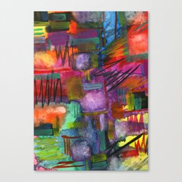 unsolved Canvas Print