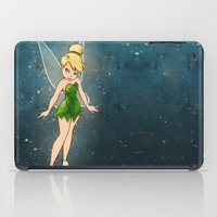 tinker bell iPad Cases featuring Tinker Bell by Anais.Lalovi
