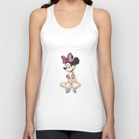 minaj Tank Tops featuring Minnie Minaj by J. Neto