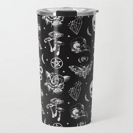 Witchcraft B&W Travel Mug