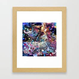 Phantodyssey Framed Art Print