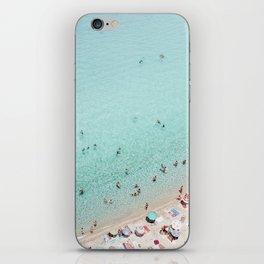 Busy Beach iPhone Skin
