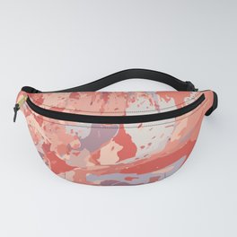 Autumn Abstract Colors Fanny Pack