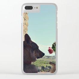 Czech Wolfdog Clear iPhone Case