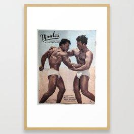 Muscles Magazine Framed Art Print