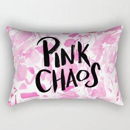 pink chaos Rectangular Pillow