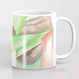 180515 Fitting In 4 | Abstract Watercolors Coffee Mug