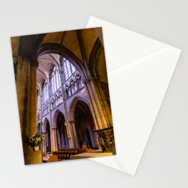 Saint Vincent Cathedral of Saint Malo Stationery Cards