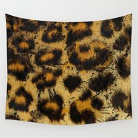 cheetah Wall Tapestries featuring Cheetah by Some_Designs