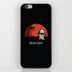 Drunk Robot iPhone & iPod Skin