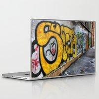 graffiti Laptop & iPad Skins featuring Graffiti by Jason Michael