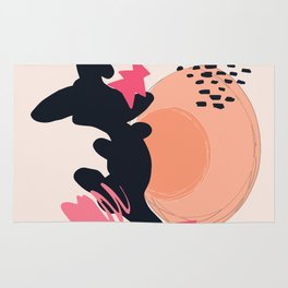 Abstract shapes #02 Rug