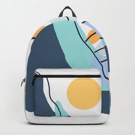 Minimalistic Landscape II Backpack