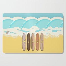 Aloha Surf Wave Beach Cutting Board