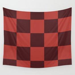 Classic Checker Leucrota Wall Tapestry
