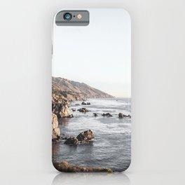 Big Sur | Monterey California Surfers Paradise Ocean Beach Landscape Wanderlust Photograph iPhone Case