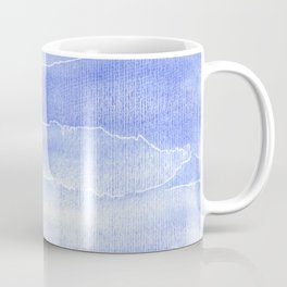 Abstract Aquarelle in blue Coffee Mug