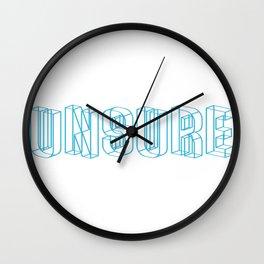 unsure Wall Clock