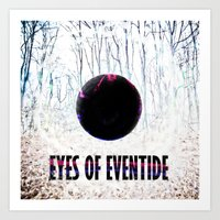 Eyes of Eventide Art Print