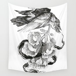 Soul of a Raven Wall Tapestry
