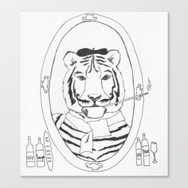 le tigre Canvas Print
