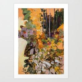 Nishga a' Wilderness Art Print