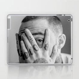 Mac Miller Black And White Portrait Laptop & iPad Skin