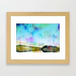 CARTOGRAPHER'S BLOODSTREAM Framed Art Print