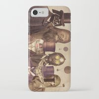 gold iPhone & iPod Cases featuring Victorian Wars  by Terry Fan
