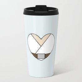 Luke Skywalker Character Heart Travel Mug