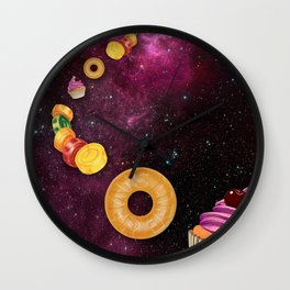 CANDY CRASH Wall Clock