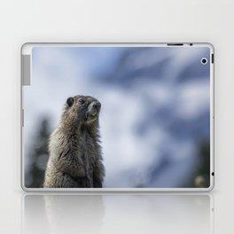 Marmot Checking Out His Neighborhood at Mount Rainier, No. 3 Laptop & iPad Skin