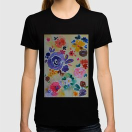 Watercolor Florals T-shirt