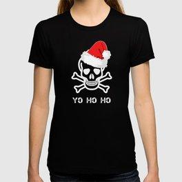 Christmas Pirate Santa Hat T-shirt