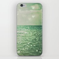 beach iPhone & iPod Skins featuring Sea of Happiness by Olivia Joy StClaire