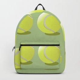 Tennis Ball Pattern Backpack