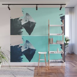 Where can one paper boat go? (Calm after the storm) Wall Mural