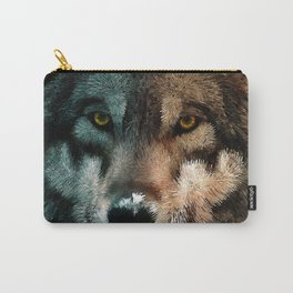 Animal Art - Wolf Carry-All Pouch