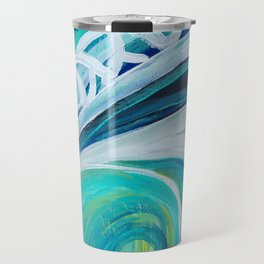 in the wave Travel Mug