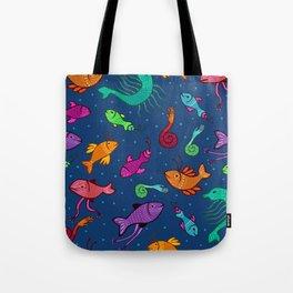 extraordinary sea creatures Tote Bag