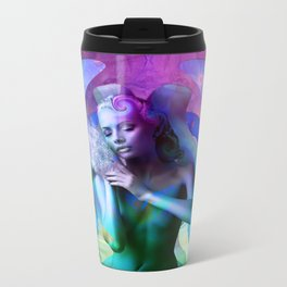 Morning Bliss Metal Travel Mug